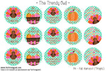 "Fall Harvest (Tropic)  - 1"" Bottle Cap Images - INSTANT DOWNLOAD"