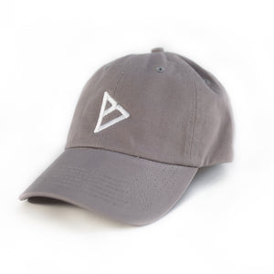 "Bingham Logo ""Dad"" Cap (Gray)"