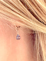 Boucles Mini Drops Iolite