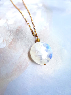 Collier Long Pierre de Lune