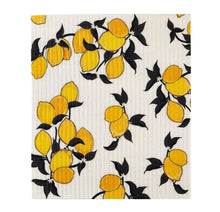 Load image into Gallery viewer, Organic Dish Cloth - Lemons