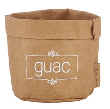 Load image into Gallery viewer, Washable paper guac holder and ceramic dish set