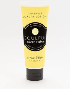 Mixologie Top Shelf Luxury Hand and Body Lotion - Soulful (Sheer Amber)