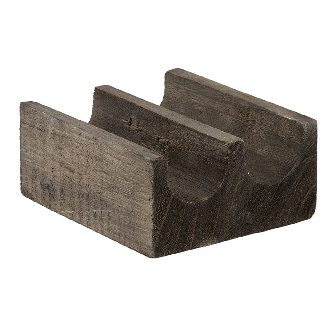 Double Taco Holder - Charcoal