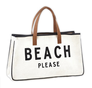 Weekender tote - BEACH PLEASE