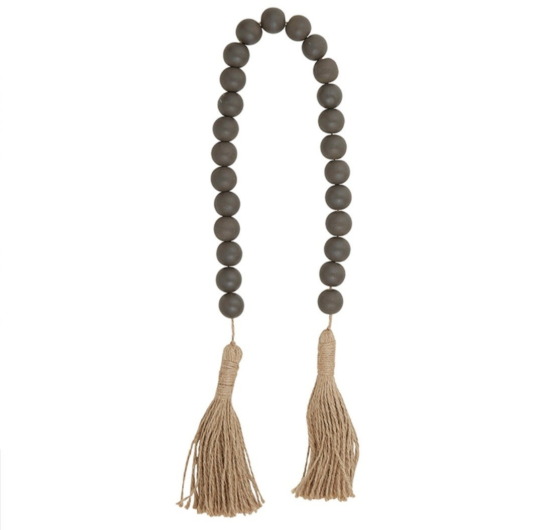 Blessing Beads - Dark Charcoal