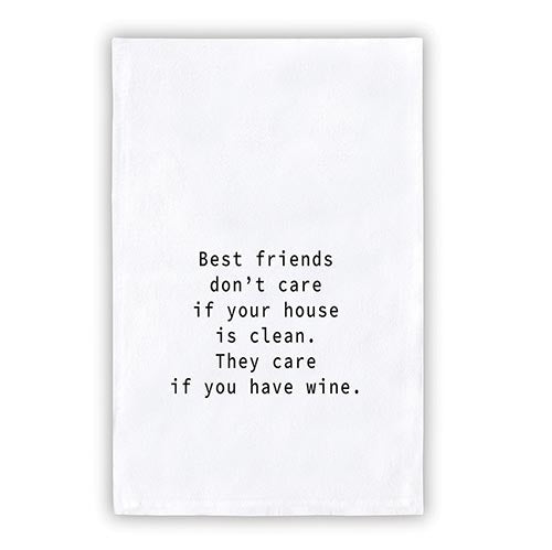 Thirsty Boy Tea Towel - Best Friends