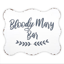 Load image into Gallery viewer, Metal Sign - Bloody Mary Bar