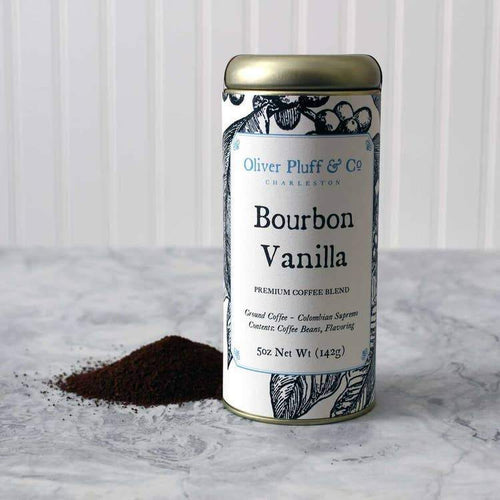 Bourbon Vanilla Ground Coffee - Signature Coffee Tin by Oliver Pluff & Co