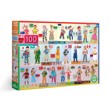 Load image into Gallery viewer, Children of the World 100 Piece Puzzle