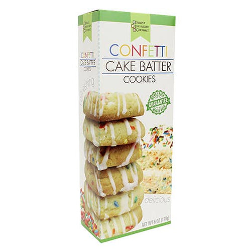 Too Good Gourmet Confetti Cake Batter Cookies