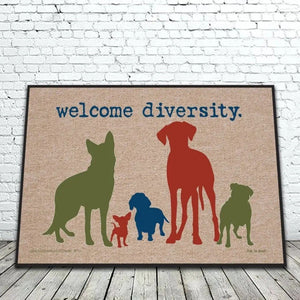 Door Mat - Welcome Diversity