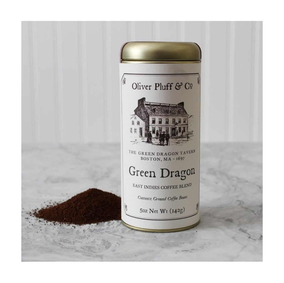 Green Dragon Ground Coffee - Signature Coffee Tin by Oliver Pluff & Co
