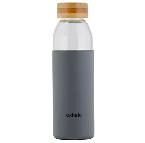 Glass Water Bottle - Exhale