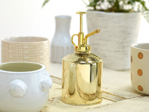 Gold Mister Watering Can
