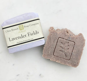 Olive Branch Natural Soap Company - Lavender fields artisan soap bar
