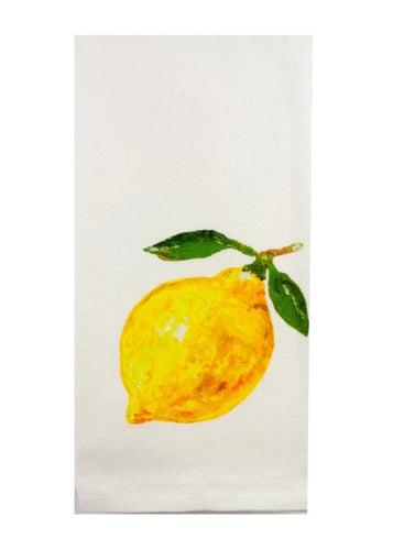 Cotton Tea Towel - Lemon