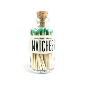Green Mini Matches