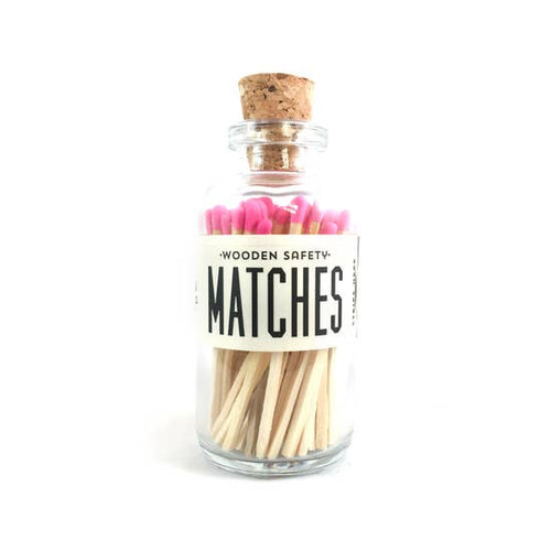 Hot Pink Mini Matches