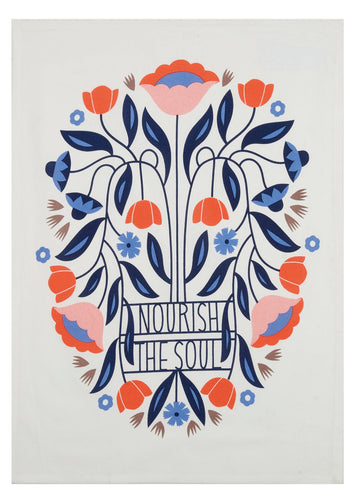 Tea Towel - Nourish The Soul