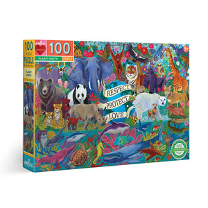 Planet Earth 100 Piece Puzzle