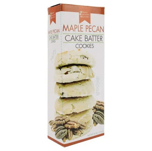 Fall Cake Batter Cookies - Maple Pecan