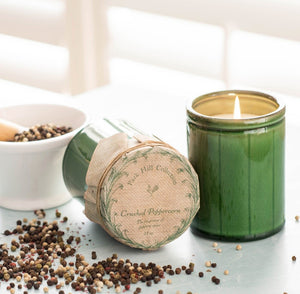 Park Hill Collection Crockery Candle - Crushed Peppercorn