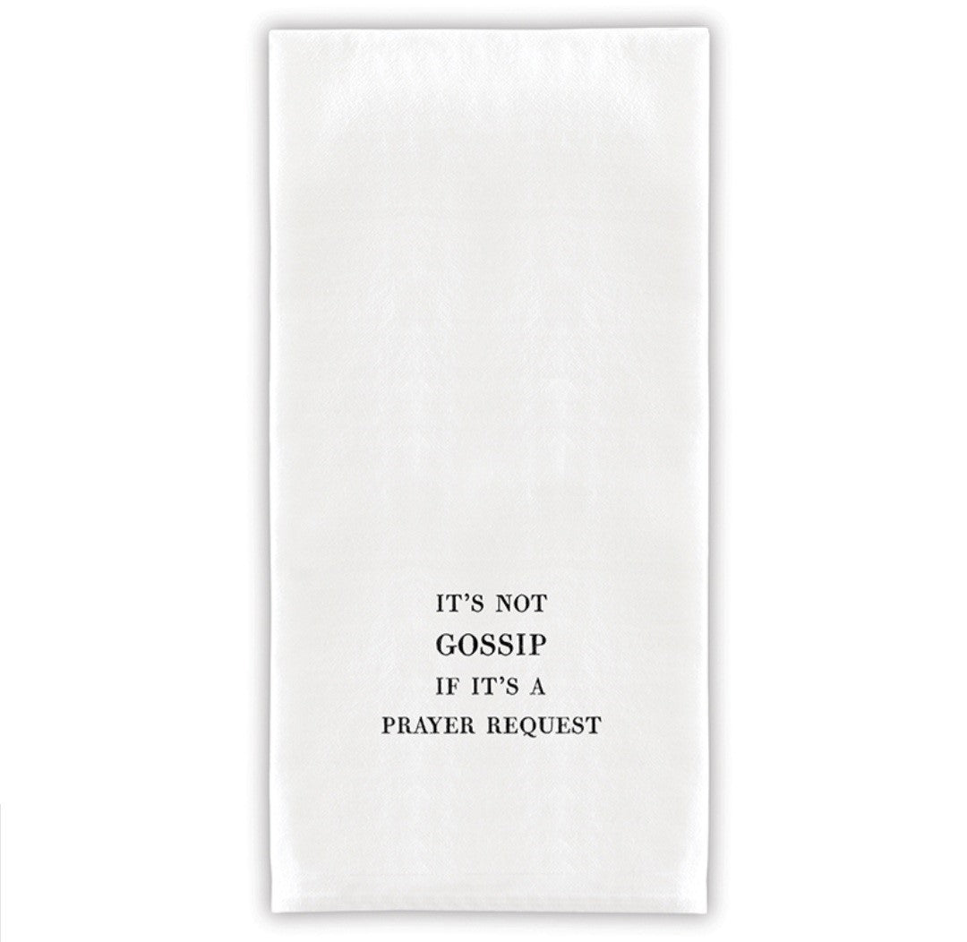 Thirsty Boy Tea Towel - Gossip