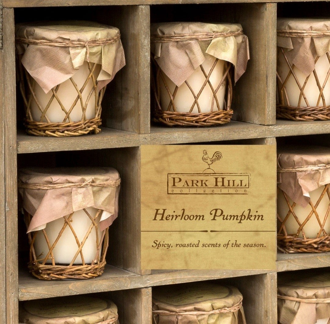 Park HIll Collection Willow Candle - Heirloom Pumpkin