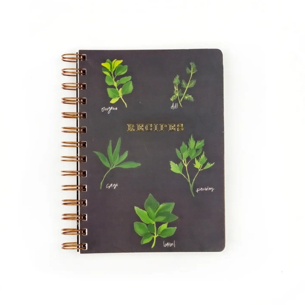 Pen + Pillar Handmade Recipe Book - Herbs
