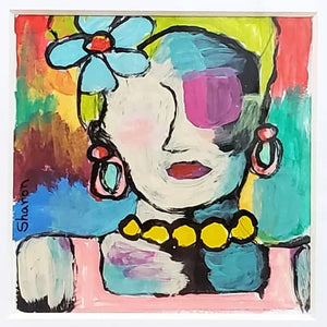 Original Art by Sharon Breaseale: Attagirl - Florence