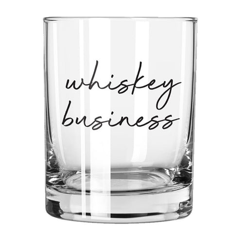 Rocks Glass - Whiskey Business