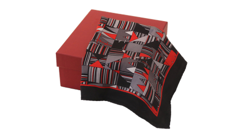 Geometric Pattern pocket square