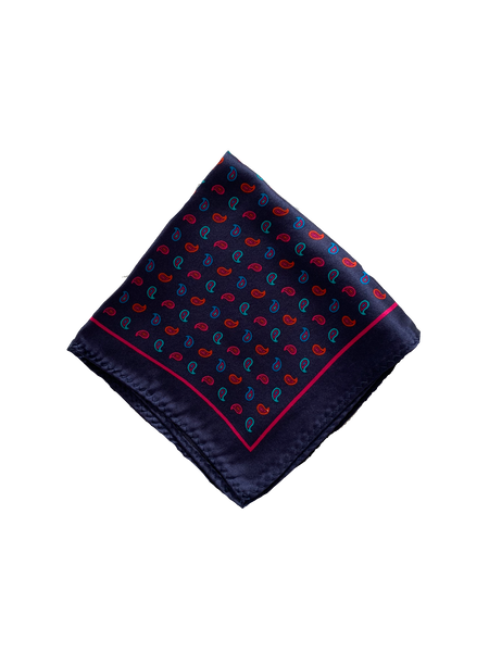 blue floral pocket square buy silk pocket squares