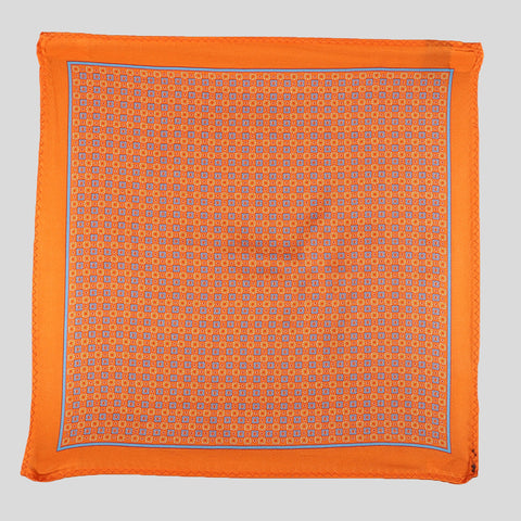 orange pocket sqaure online