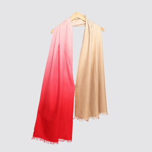 ombre shawl red shawl cashmere online