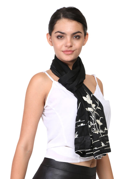 parsi gara work scarves and stoles