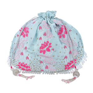 potli bags online , hand embroidered potli bag