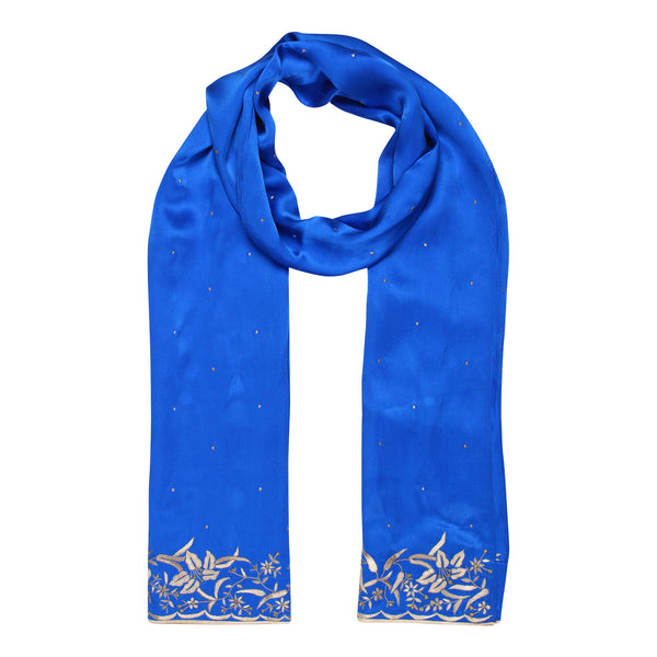 parsi embroidery borders on stoles and scarfs