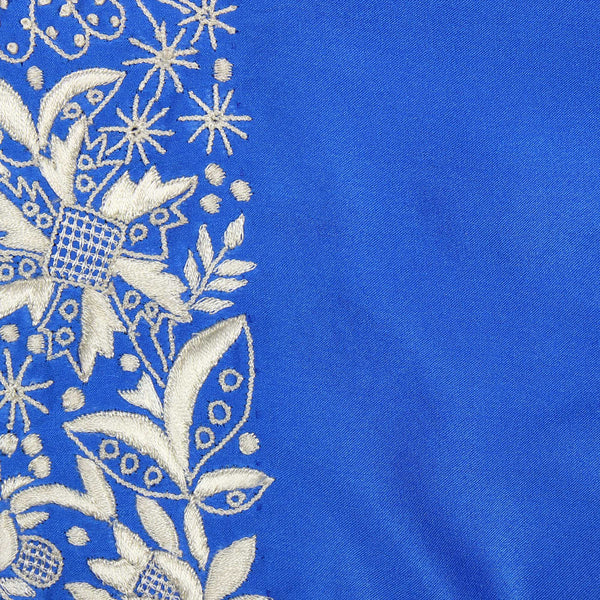 Parsi embroidery designs on silk stole