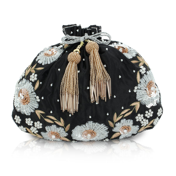 bridal purse with price, designer potli bag