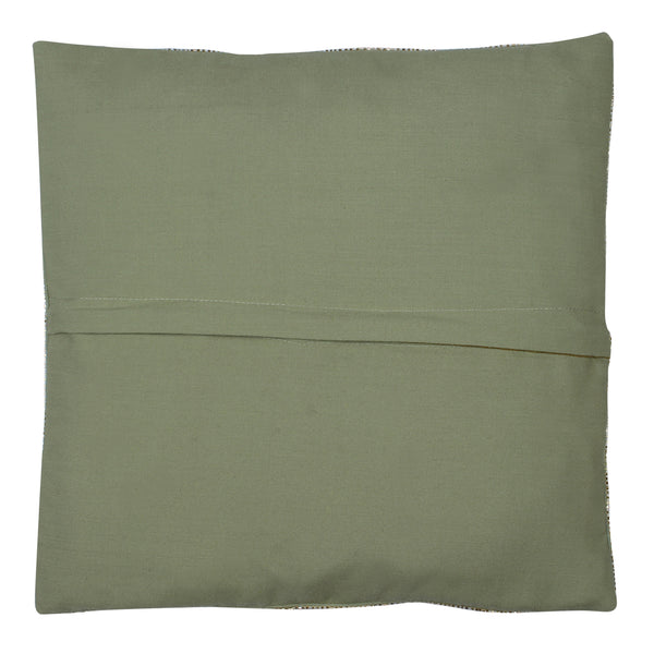 Green Cushion Covers Set, Embellished & Hand Embroidered