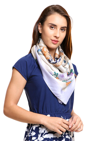 purple scarf amazon