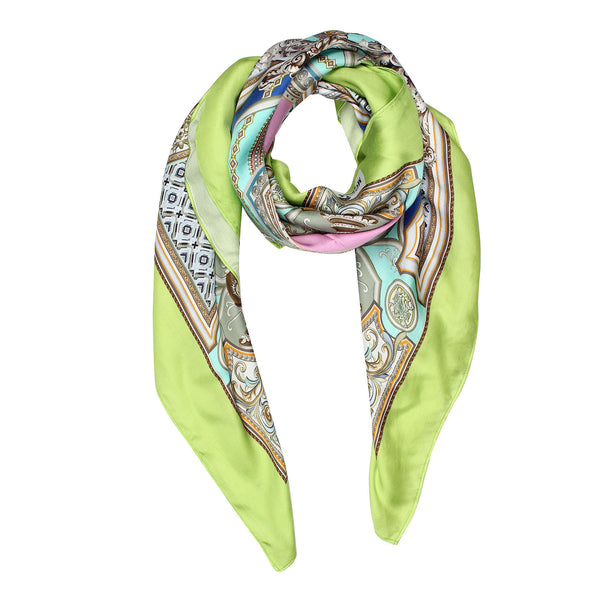 Modarta Fashion Scarf - Green Castle