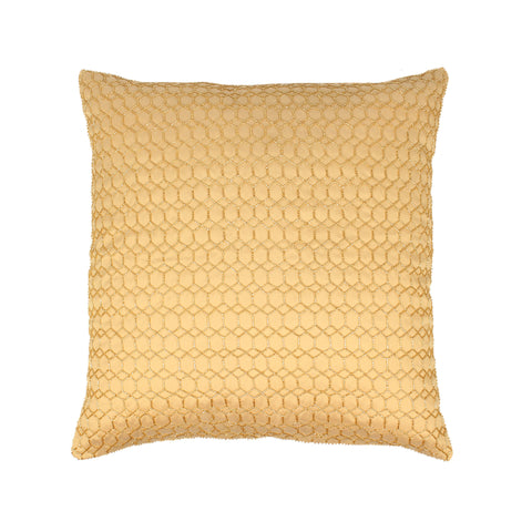 golden cushion cover, designer cushion cover online