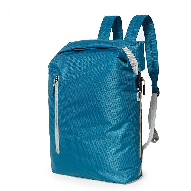 Lightweight Foldable Water Resistant Backpack - Green Mango