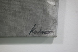 Rikki Kasso - Sumi ink on canvas - signed