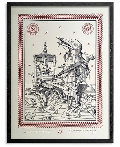 Ravi Zupa - signed and numbered print (free delivery in EU)