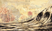 Load image into Gallery viewer, Shepard Fairey (Obey) - DARK WAVE Signed and dated print (free delivery in EU)