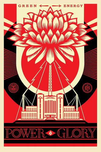 Shepard Fairey - signed and dated print (free delivery in EU)